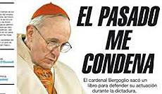 "Bergoglio visto dal quotidiano argentino ""Página 12"""
