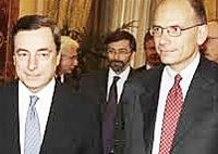 Draghi e Letta