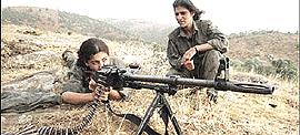 La guerriglia nel Kurdistan turco
