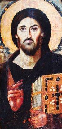 Cristo, icona bizantina