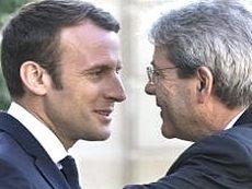 Macron e Gentiloni