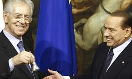 Monti e Berlusconi