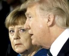 Trump e Merkel