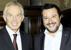 Salvini con Blair