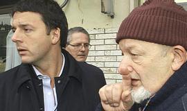 Matteo Renzi con il padre, Tiziano
