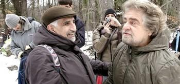 Grillo a Chiomonte con Alberto Perino
