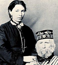 Anita e Giuseppe Garibaldi