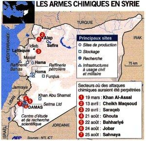 Ames chimiques en Syrie