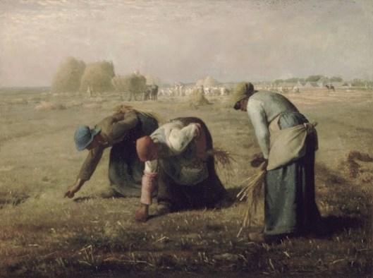 Les Glaneuses - Millet