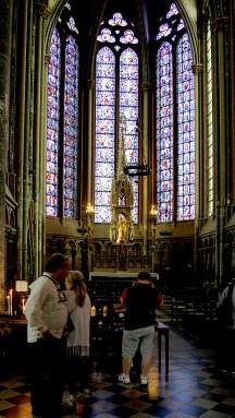 Cathédrale Amiens - Vitraux latéraux de chapelle