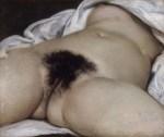 Origine du monde  G Courbet Musée d Orsay