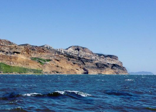 Cassis - La falaise est sur le retour vers le port