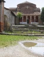 Fouilles et Eglise