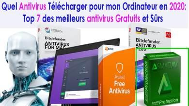 Photo of Top 7 de Meilleurs Antivirus Gratuits à Télécharger en 2020.