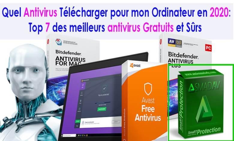 Antivirus Gratuits en 2020
