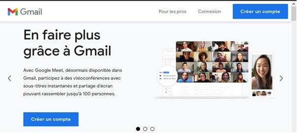 Créer un compte Gmail Gratuit Facilement
