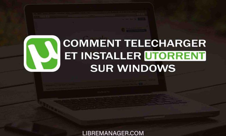 Le Client uTorrent sur LibreManager
