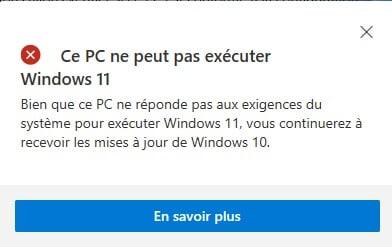 Télécharger PC Health Check pour Windows 11