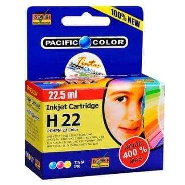 tinta pacific color 22