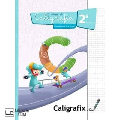 caligrafix 2 basico cuadricula