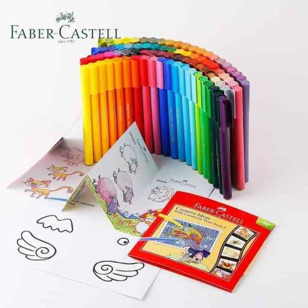 Connector Pen de Faber Castell set de 80 marcadores + accesorios_2