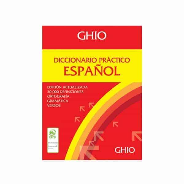 Diccionario español ghio practico de la lengua española