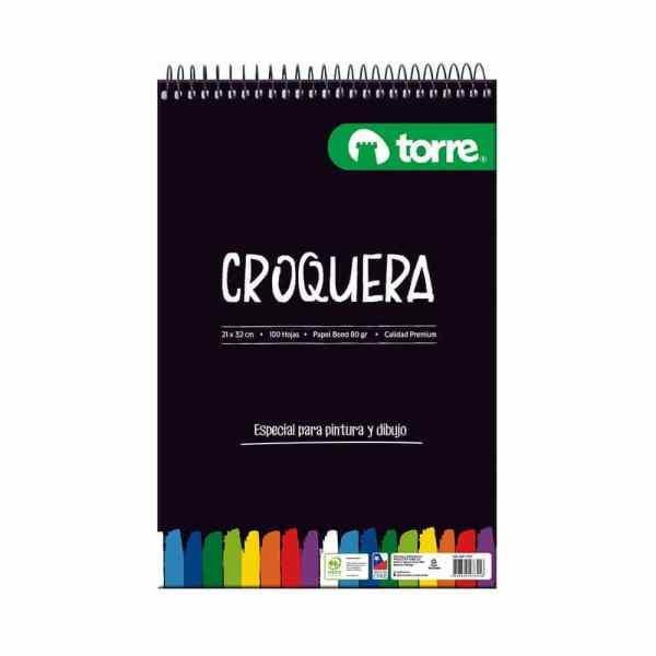 CROQUERA TORRE IMAGIA 21X32CM 100 HOJAS 17877