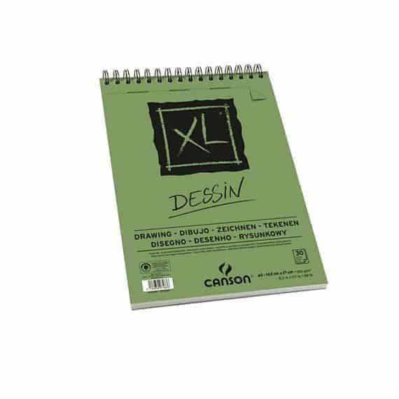 CROQUERA CANSON XL DESSIN DRAW A5 30H 160GR - 21 x 14.8 CM