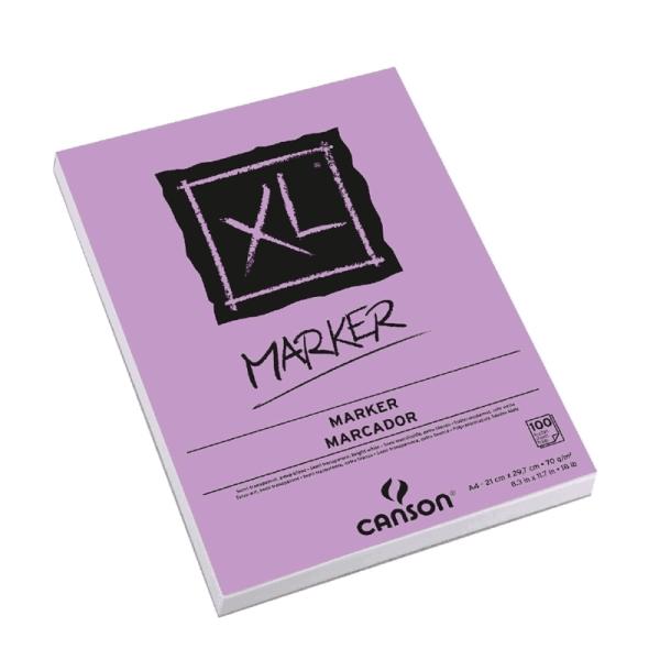 CANSON XL MARKER A4 100 HJS 70GRS 21 X 29.7CM SEMITRANSPARENTE