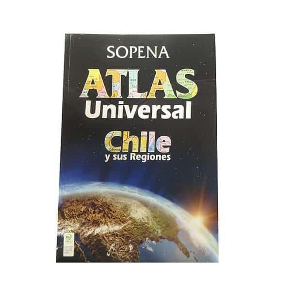 ATLAS UNIVERSAL DE CHILE Y SUS REGIONES SOPENA-2