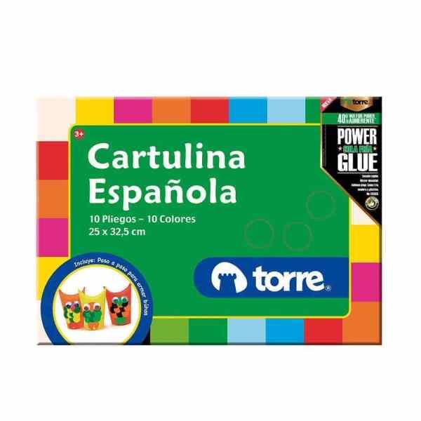 CARPETA CARTULINA ESPAÑOLA TORRE 24474
