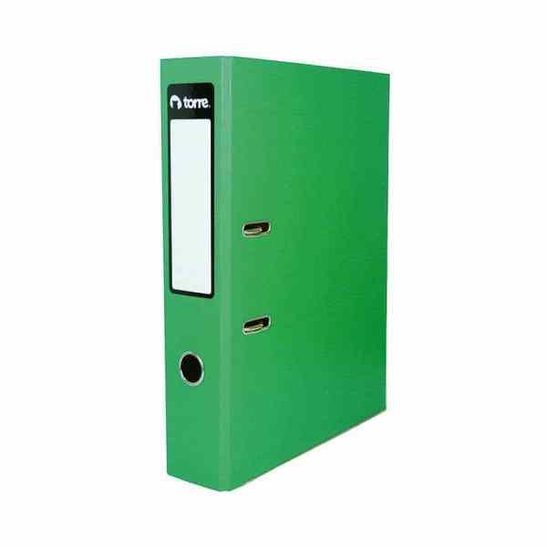Archivador oficio verde 518-hr lomo ancho torre - 471