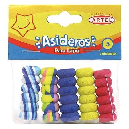 ASIDEROS ARTEL SET 5 UNIDADES - GRIP PARA LAPICES 20000565