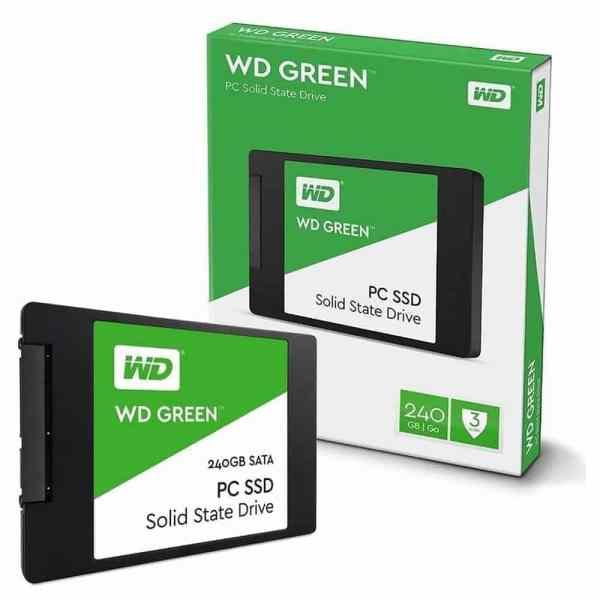 """DISCO DURO SSD 240GB WD GREEN 2.5"""" SATA 3"""