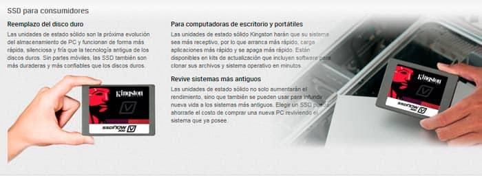 DISCO DURO SOLIDO SSD KINGSTON