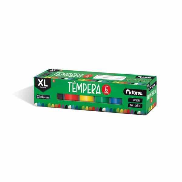 TEMPERA XL 6 COLORES