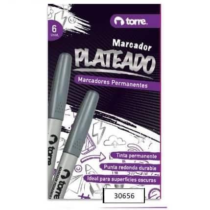 MARCADOR PLATEADO TORRE