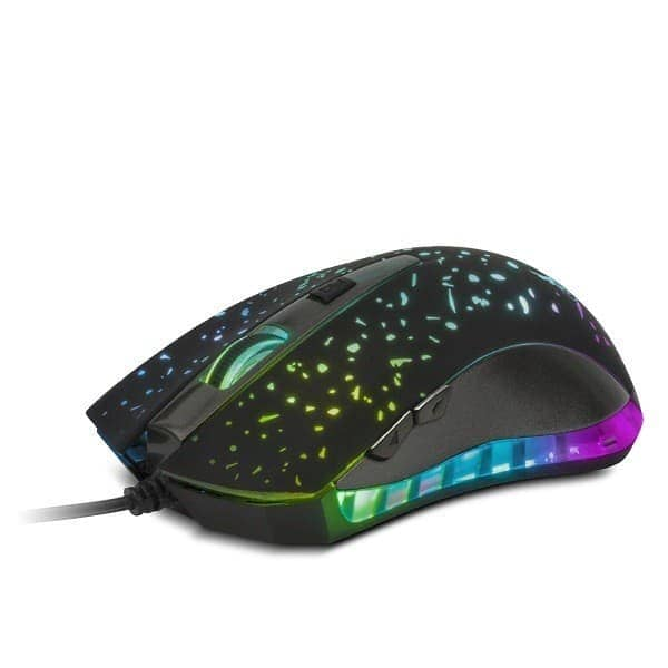 MOUSE XTECH GAMER USB 6BOT. 7 COLORES