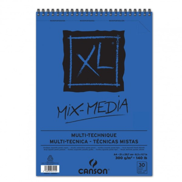 canson mix media A4