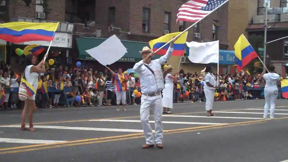 Desfile Colombiano en NY