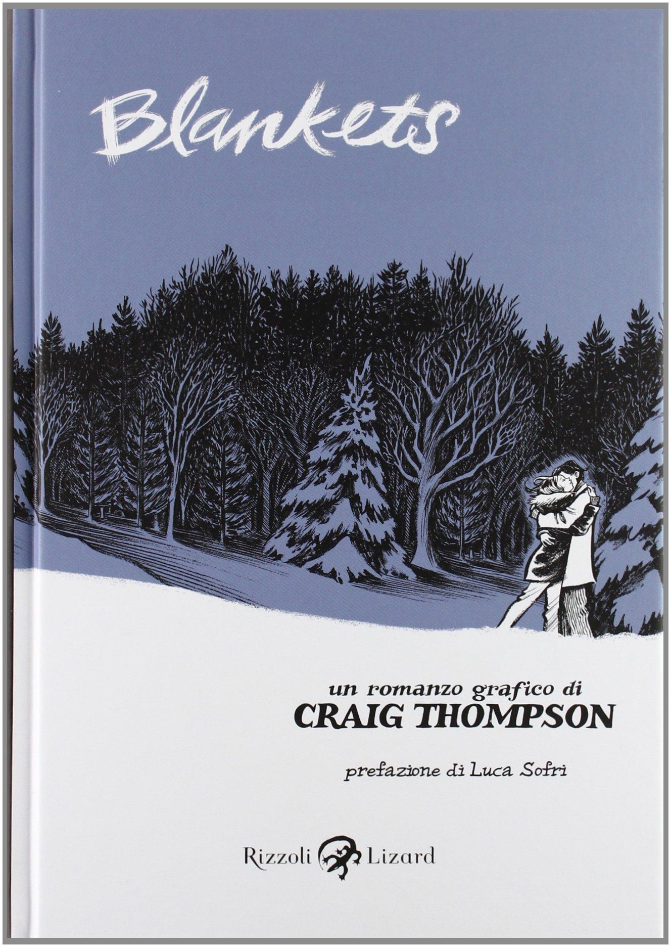 Copertina di Blankets - Craig Thompson
