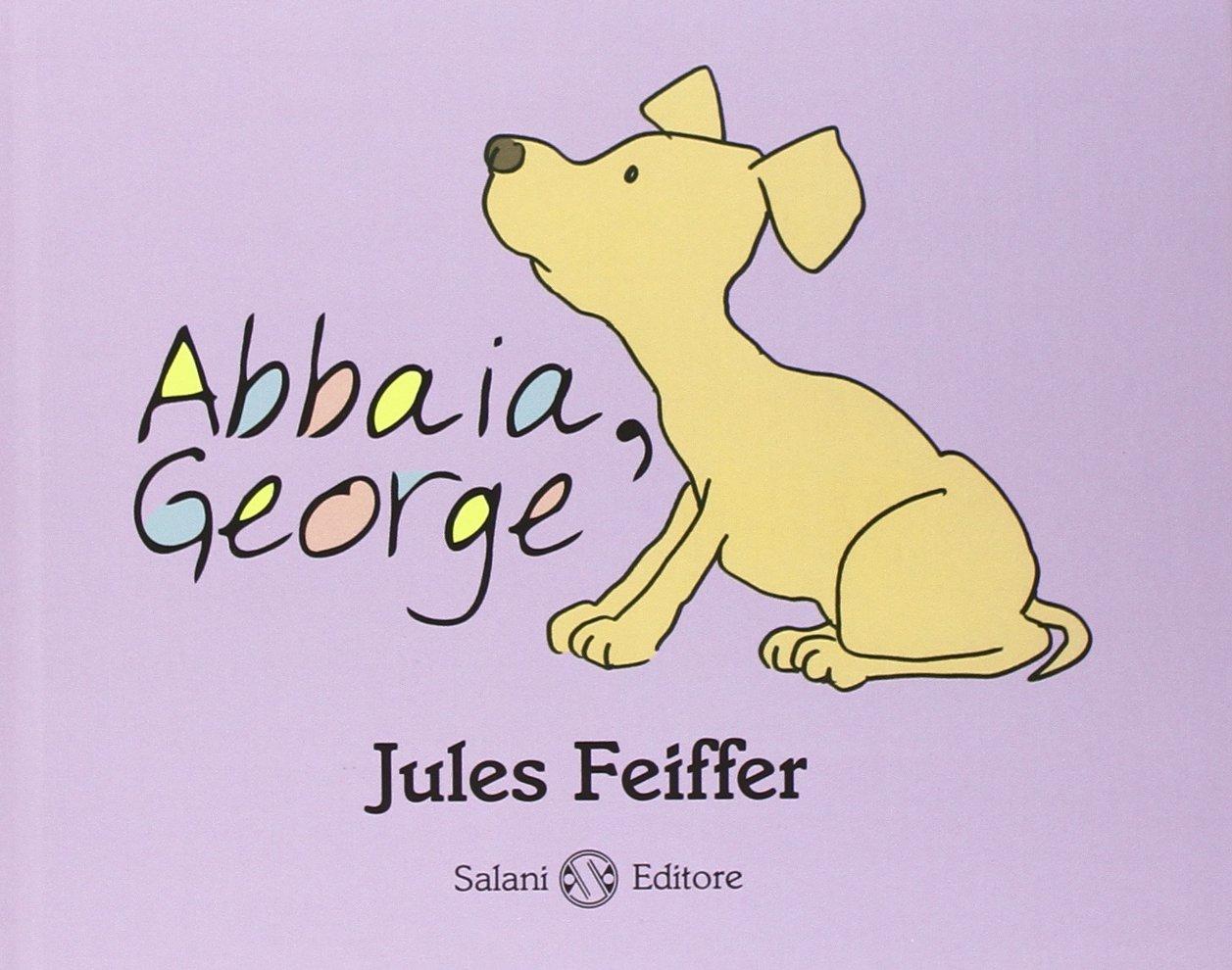Copertina del libro Abbaia George per il progetto Nati per Leggere