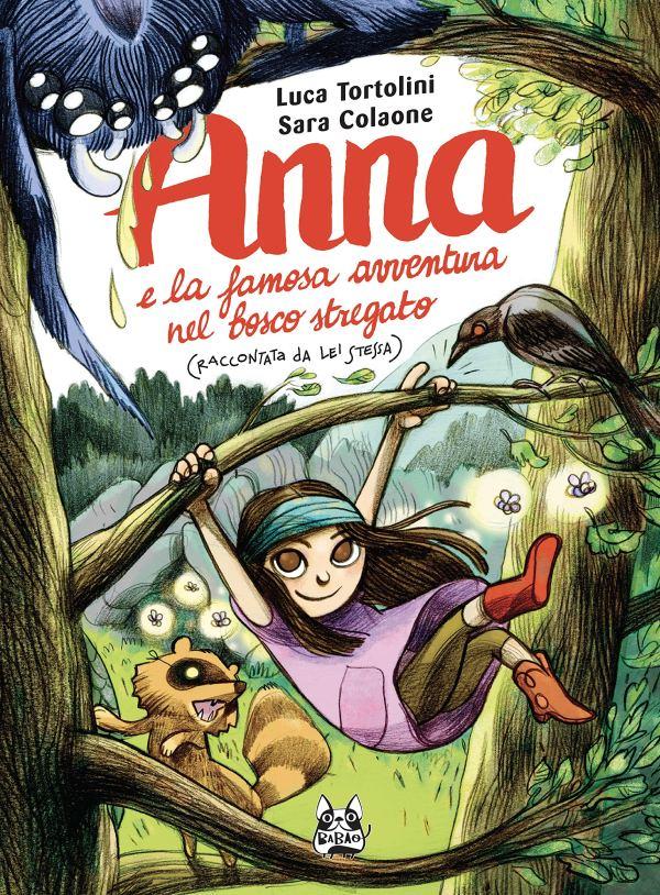 Copertina del libro Anna e la famosa avventura nel bosco stregato