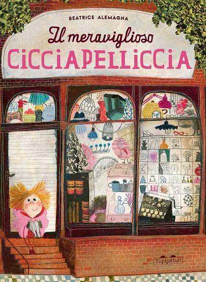 Copertina del libro Il meraviglioso Cicciapelliccia di Beatrice Alemagna