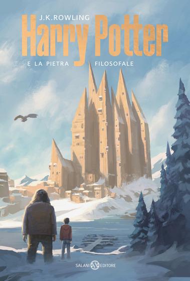 Copertina del libro Harry Potter e la pietra filosofale