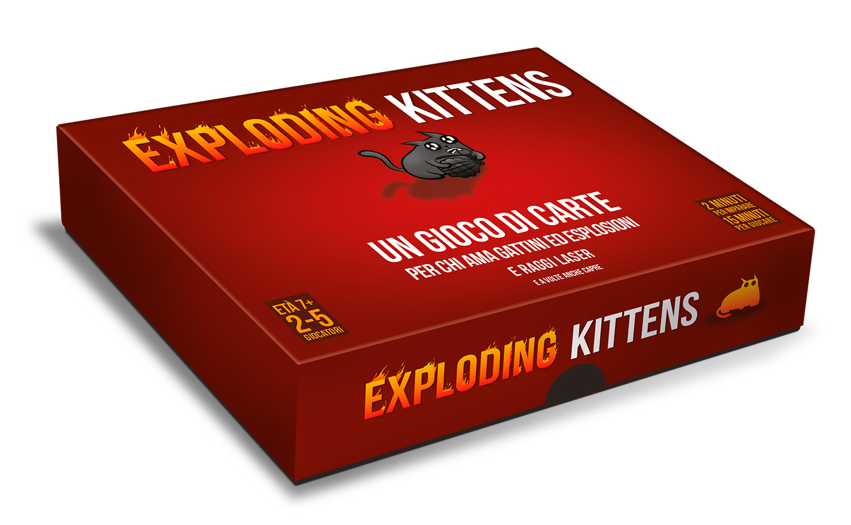 Immagine del gioco Exploding Kittens