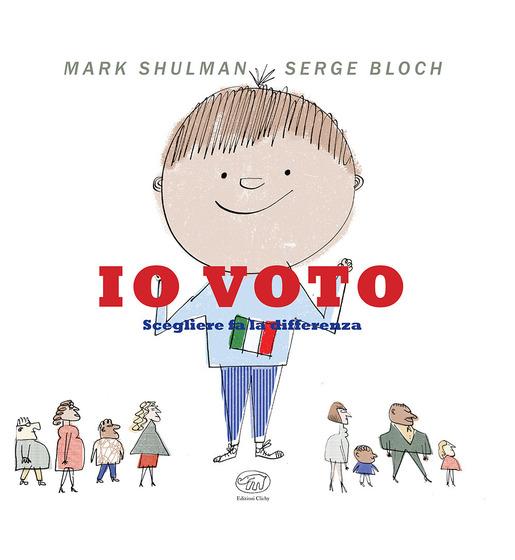 Copertina del libro Io voto