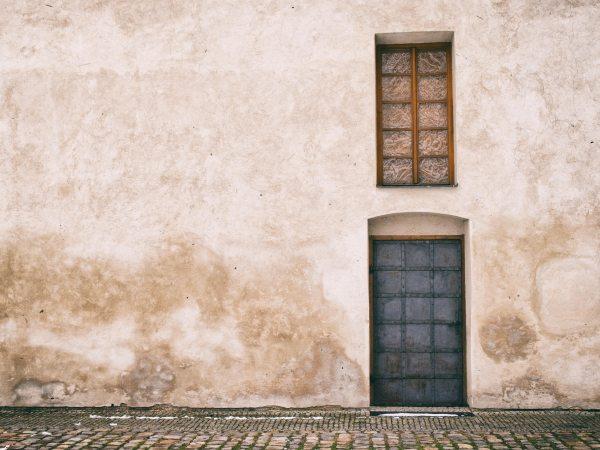 Old door and window in Prague | FREE image on LibreShot
