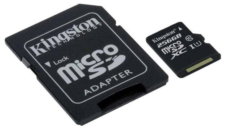 ¡Kingston lanza  microSDXC de 256GB!