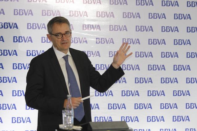 """""""2016 fue un año de enormes retos"""": Presidente de BBVA Colombia."""
